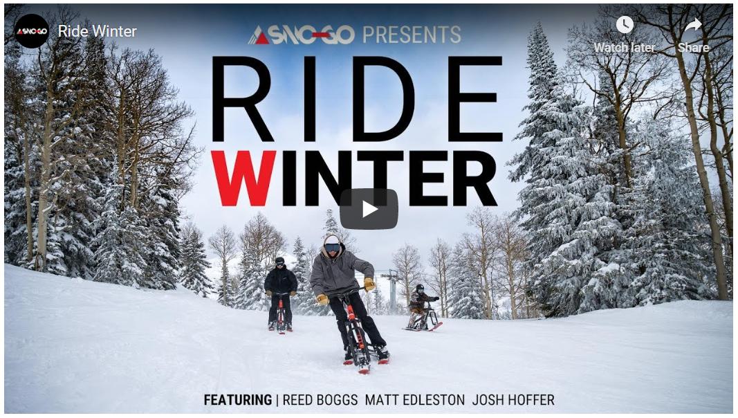 Ride Winter | SNO-GO Bikes